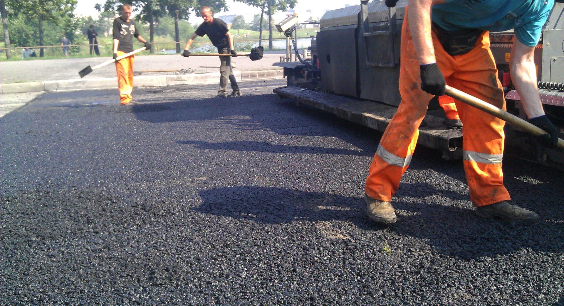 The amount of asphalt per 1m2 | roadtm com
