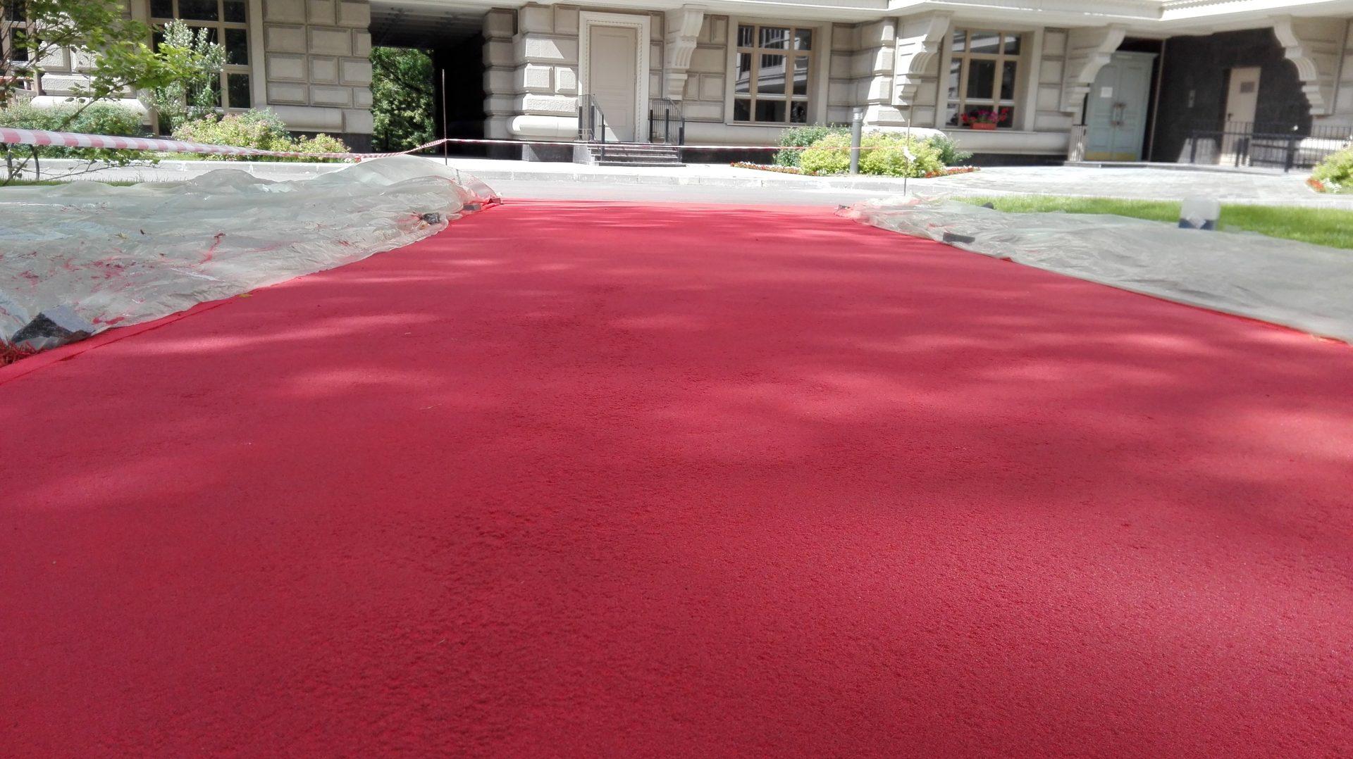 Покрытие асфальта бетоном сколько весит блок из керамзитобетона